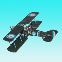 Bristol F2B Decal