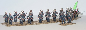 Mexican Federal Troops 1913